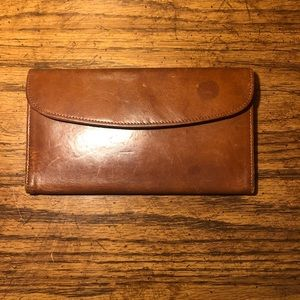Vintage Coach Wallet + Checkbook Holder